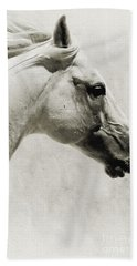 The White Horse IIi - Art Print Beach Sheet