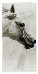 The White Horse IIi - Art Print Beach Sheet