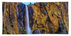 The Wild Bridaveil Falls Beach Towel