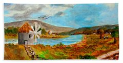 The Windmill Beach Towel