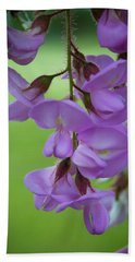 Beach Towel featuring the photograph The Wisteria by Mark Dodd