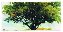 The Witness Tree Beach Towel