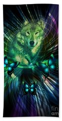 The Wolf Within Beach Towel
