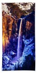 The Wonderful Bridalveil  Falls Beach Towel