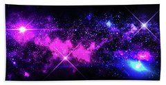 Beach Towel featuring the photograph The Wonders Of Space  by Naomi Burgess