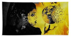 The World Is Mine Beach Towel by Jessica Shelton