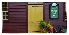 The Yellow Door In Annapolis Beach Towel