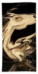 Beach Sheet featuring the digital art The Young Pegasus by Rabi Khan