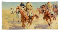 Theodore Roosevelt And The Rough Riders Beach Towel