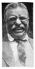 Theodore Roosevelt Laughing Beach Sheet