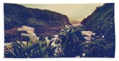 There Is Harmony Beach Towel by Laurie Search
