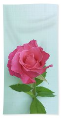 Beach Sheet featuring the photograph There Is Simply The Rose by Cindy Garber Iverson