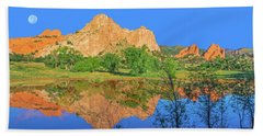 There's A Plenitude Of Awe-inspiring Rock Formations In Colorado.  Beach Towel