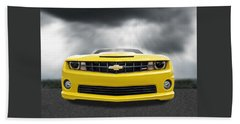There's A Storm Coming - Camaro Ss Beach Towel