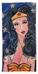 There's A Wonder Woman In Us All Beach Towel