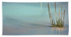 Beach Sheet featuring the photograph Thermal Reflection by Lana Trussell