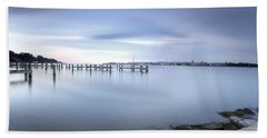 These Waters Are My Canvas Beach Towel by Edward Kreis
