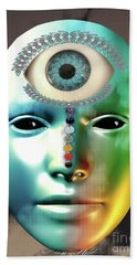 Third Eye Beach Towel