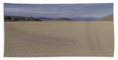 This Is A Dry Lake Pattern Beach Towel by Panoramic Images