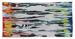 This Is Us Beach Towel by Cyrionna The Cyerial Artist