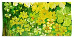 This Summer Fields Of Flowers Beach Towel