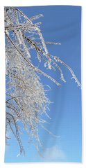 This Willow Don't Bend Beach Sheet by Susan Duda