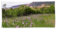 Thistles In The Canyon Beach Towel