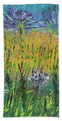Thistles Too Beach Towel