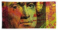Thomas Jefferson - $2 Bill Beach Towel