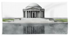 Thomas Jefferson Memorial, Washington Beach Towel