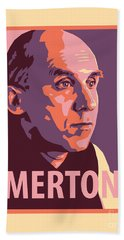 Thomas Merton - Jltme Beach Towel