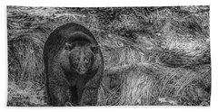 Thornton Creek Black Bear Beach Towel