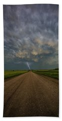 Beach Sheet featuring the photograph Thor's Chariot  by Aaron J Groen