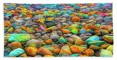 Thou Shalt Not Eat Stones Beach Towel