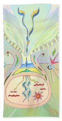 Thought Seed Beach Towel