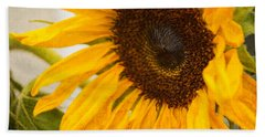 Thoughts Of Autumn Beach Towel