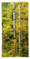 Three Birch Beach Towel