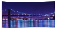 Three Bridges Beach Towel