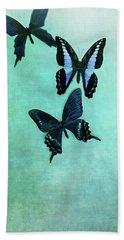Three Butterflies Beach Sheet