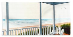 Adirondacks By The Sea - Prints From Original Oil Painting Beach Sheet