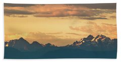 Three Fingers Mountain Beach Towel