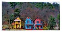 Three Houses Hot Springs Ar Beach Towel