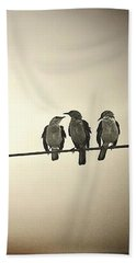Three Little Birds Beach Sheet