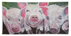 Three Little Pigs Beach Towel