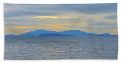 Three Realms/dusk Beach Towel