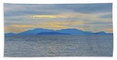 Three Realms/dusk Beach Sheet