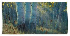 Three Sisters - Spirit Of The Forest Beach Towel
