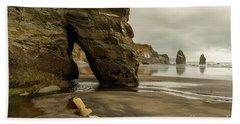 Three Sisters Beach Towel by Werner Padarin