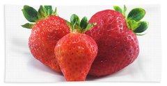 Three Strawberries Beach Sheet