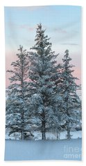 Three Trees Beach Towel by Ronda Kimbrow